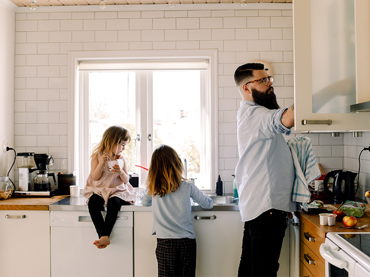 My Partner Became a Stay-at-Home Dad in Quarantine