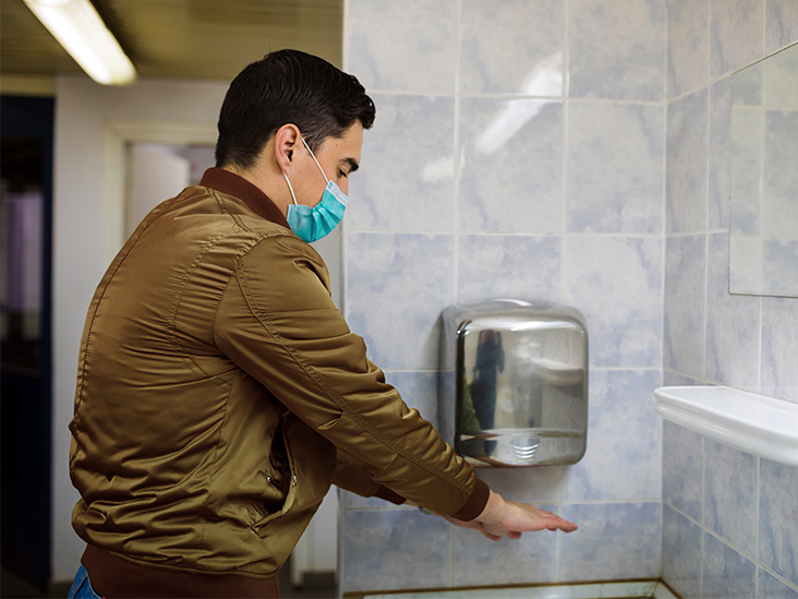 Study Finds Air Hand Dryers Can Spread More Germs Than Paper Towels