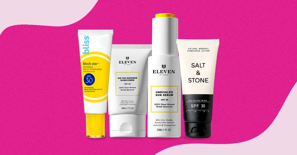 The 9 Best Sunscreens For Sensitive Skin That Wont Cause