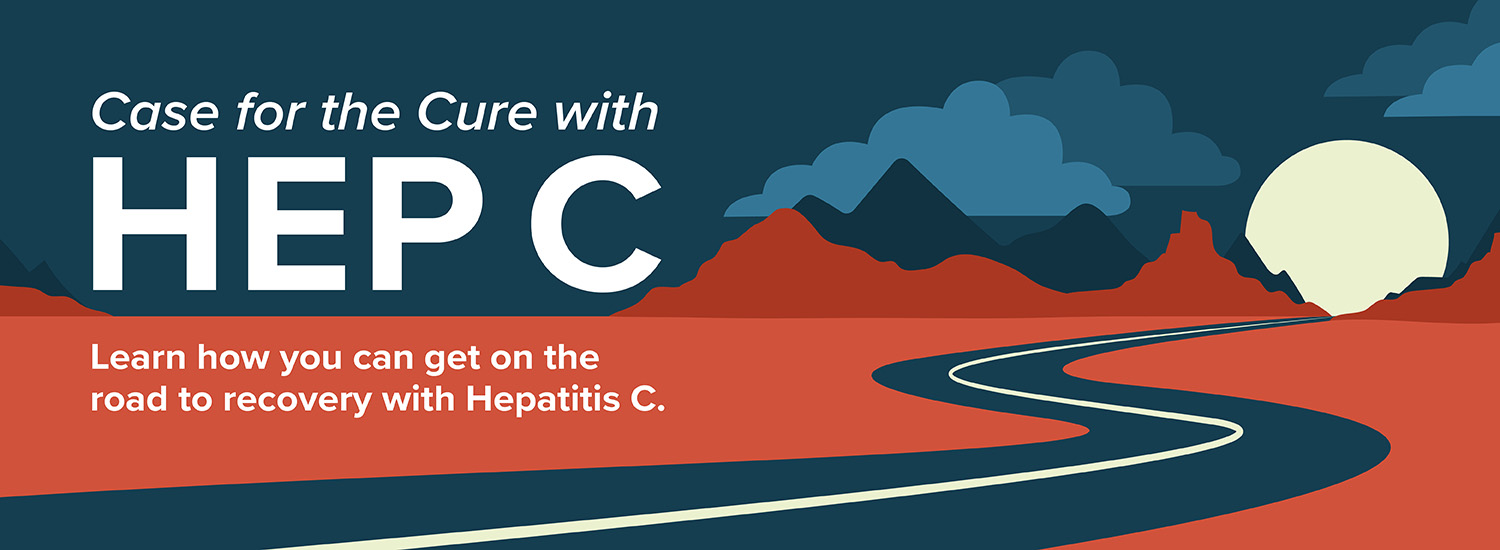 Case for the Cure with Hep C