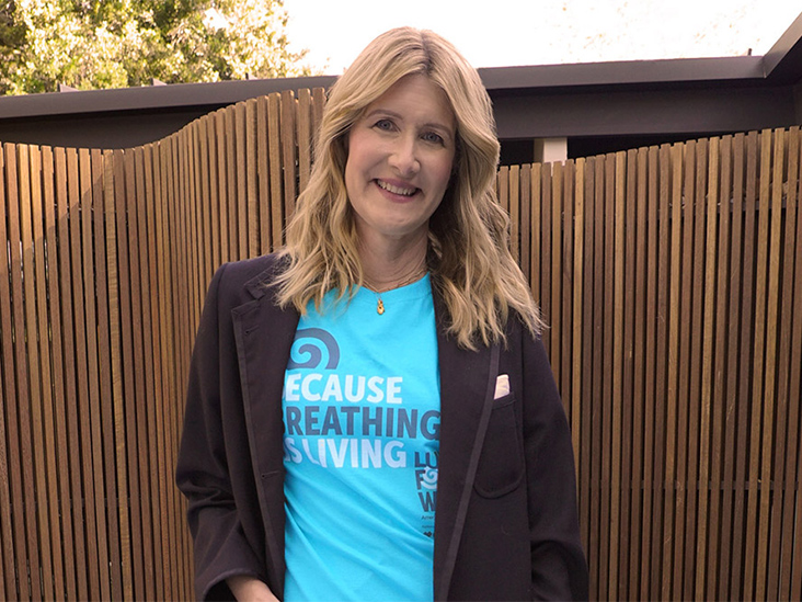 How Lung Cancer Changed Laura Dern's Life