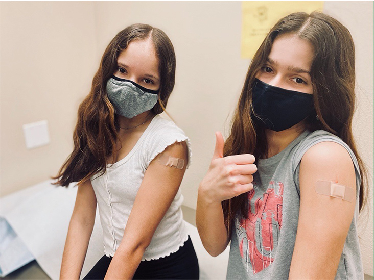 Why These 12-Year-Old Twins Agreed to Join a COVID-19 Vaccine Trial