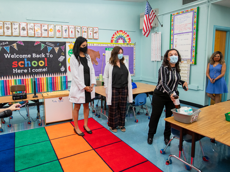 Vaccinating Kids, Masks, and More: The New U.S. School Year
