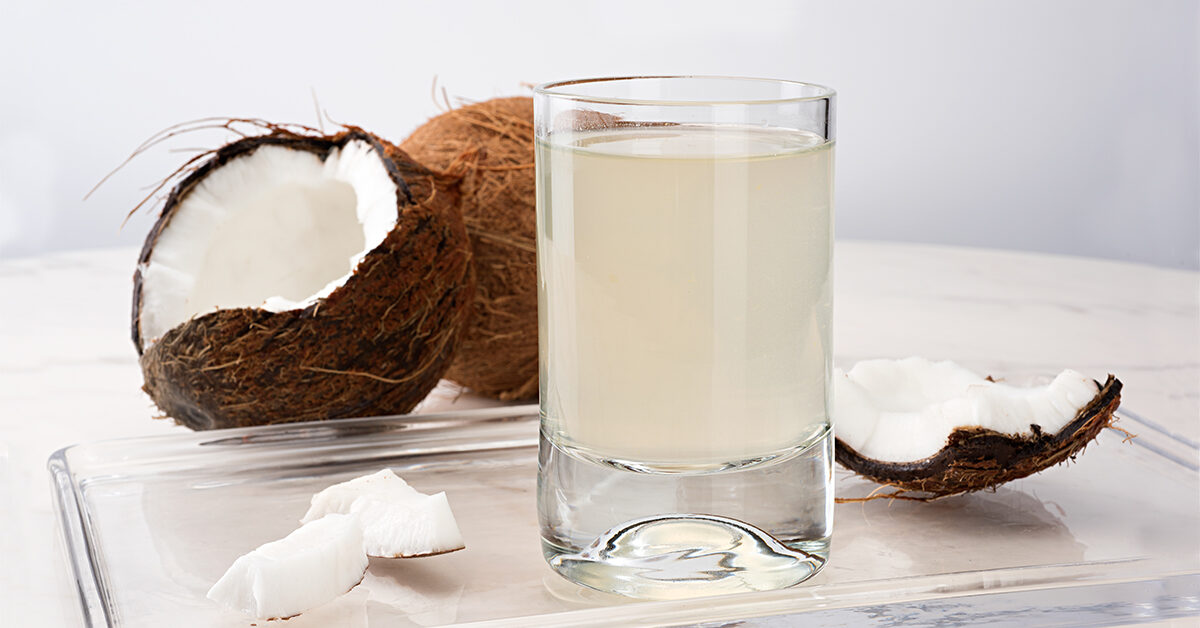 Coconut Water to Increase Energy and Stamina