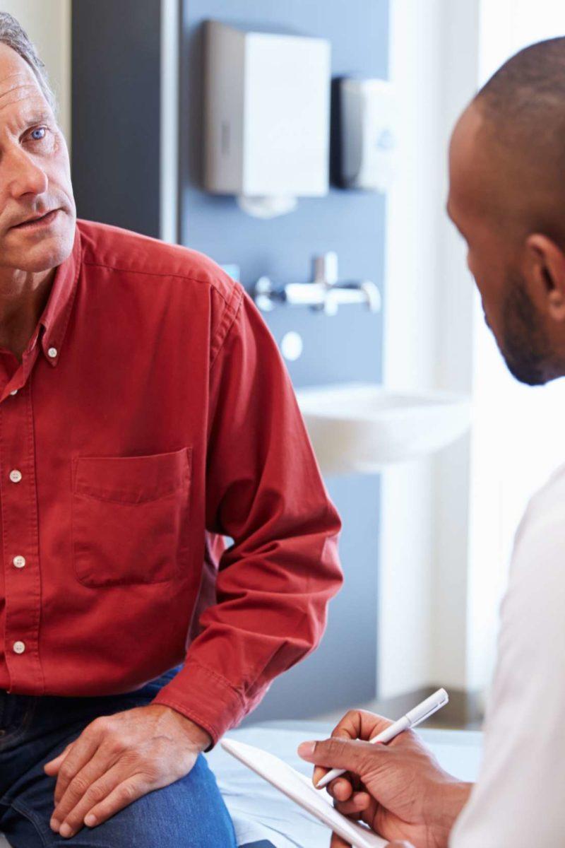 chronic nonbacterial prostatitis blood in urine